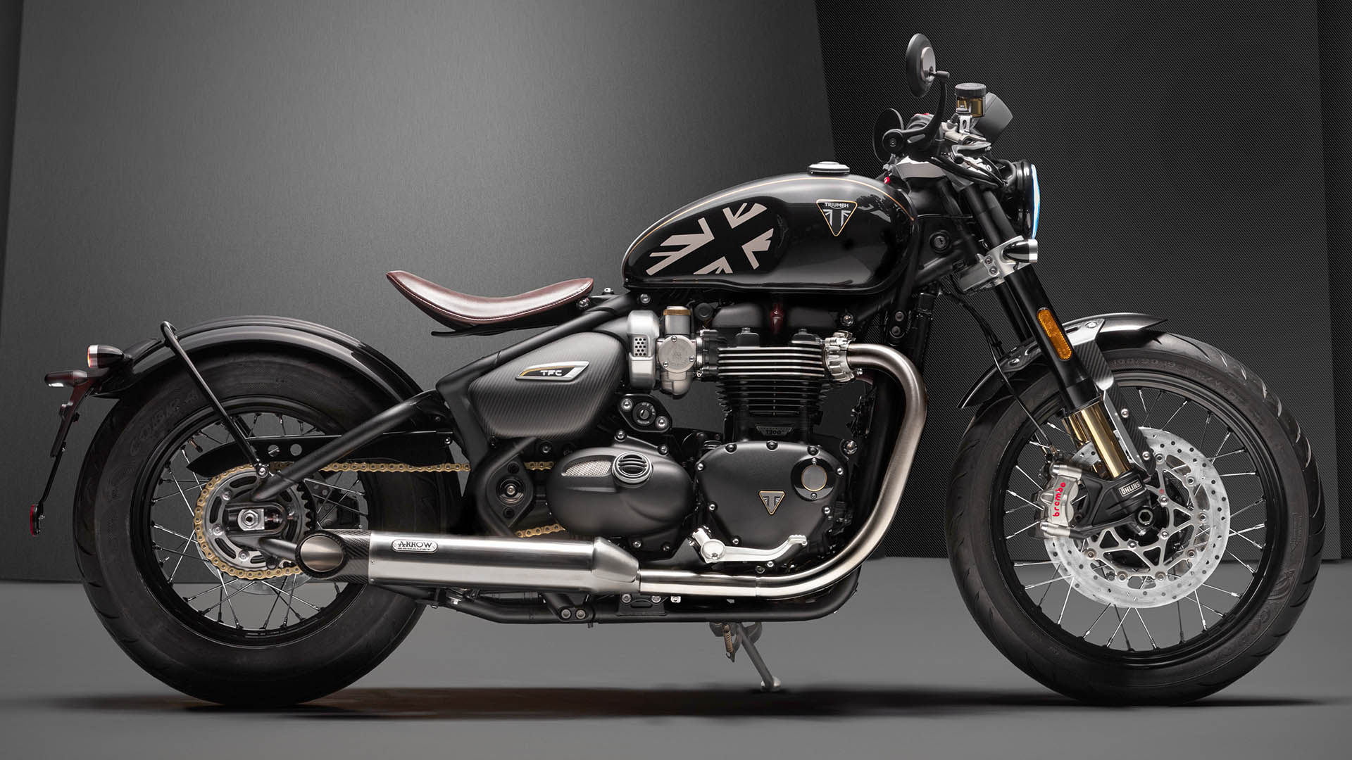 2020 Triumph Bobber TFC - right side