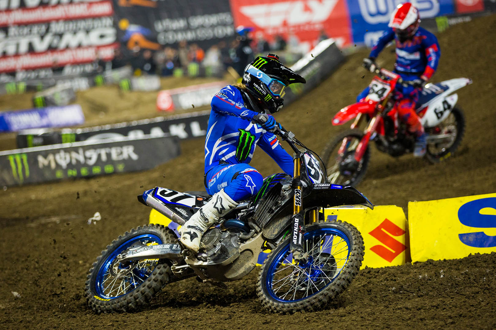 2020 Anaheim 1 Supercross Results - Justin Barcia and Vince Friese