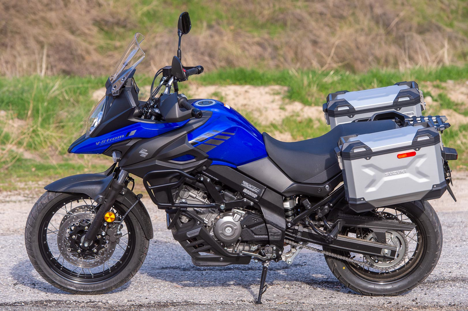 2020 V-Strom 650XT Adventure seat height