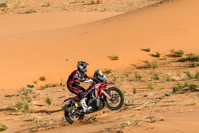 America's Brabec Enters Rest Day with Lead at 2020 Dakar Rally