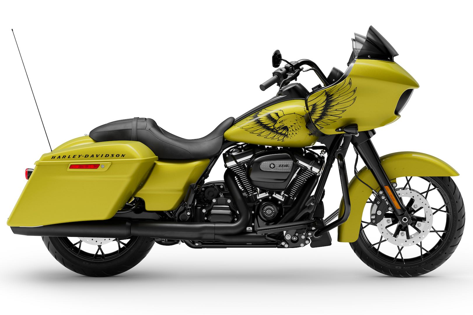 Harley-Davidson Unveils Road Glide in Eagle Eye Yellow Paint Special