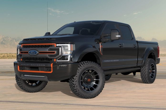 2020 Harley-Davidson Ford F-250 Inspired by Fat Boy Unveiled