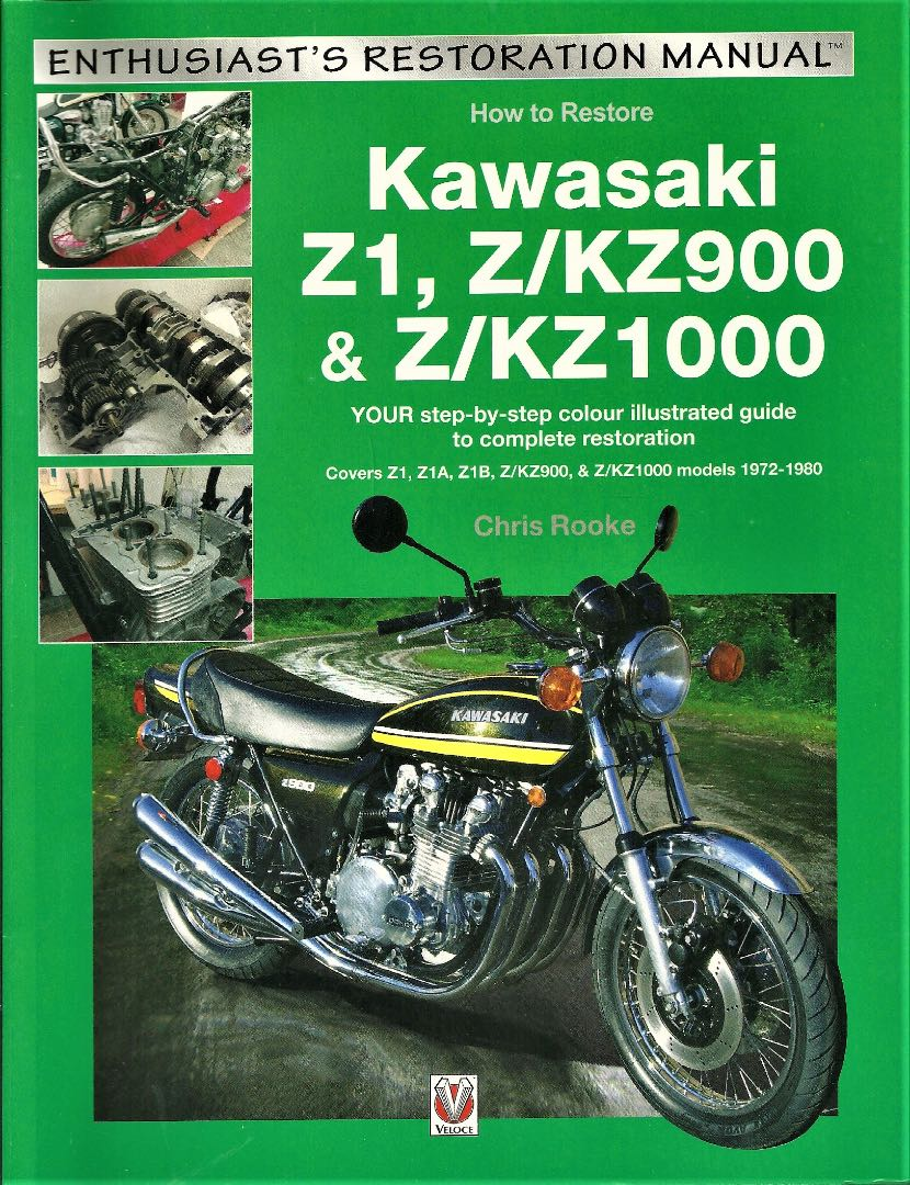 How to Restore Kawasaki Z1, Z/KZ900 and Z/KZ1000: Book Review (Rider's Library)