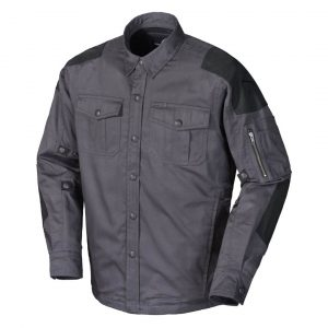 ScorpionExo Abrams Riding Shirt Review - Gray front