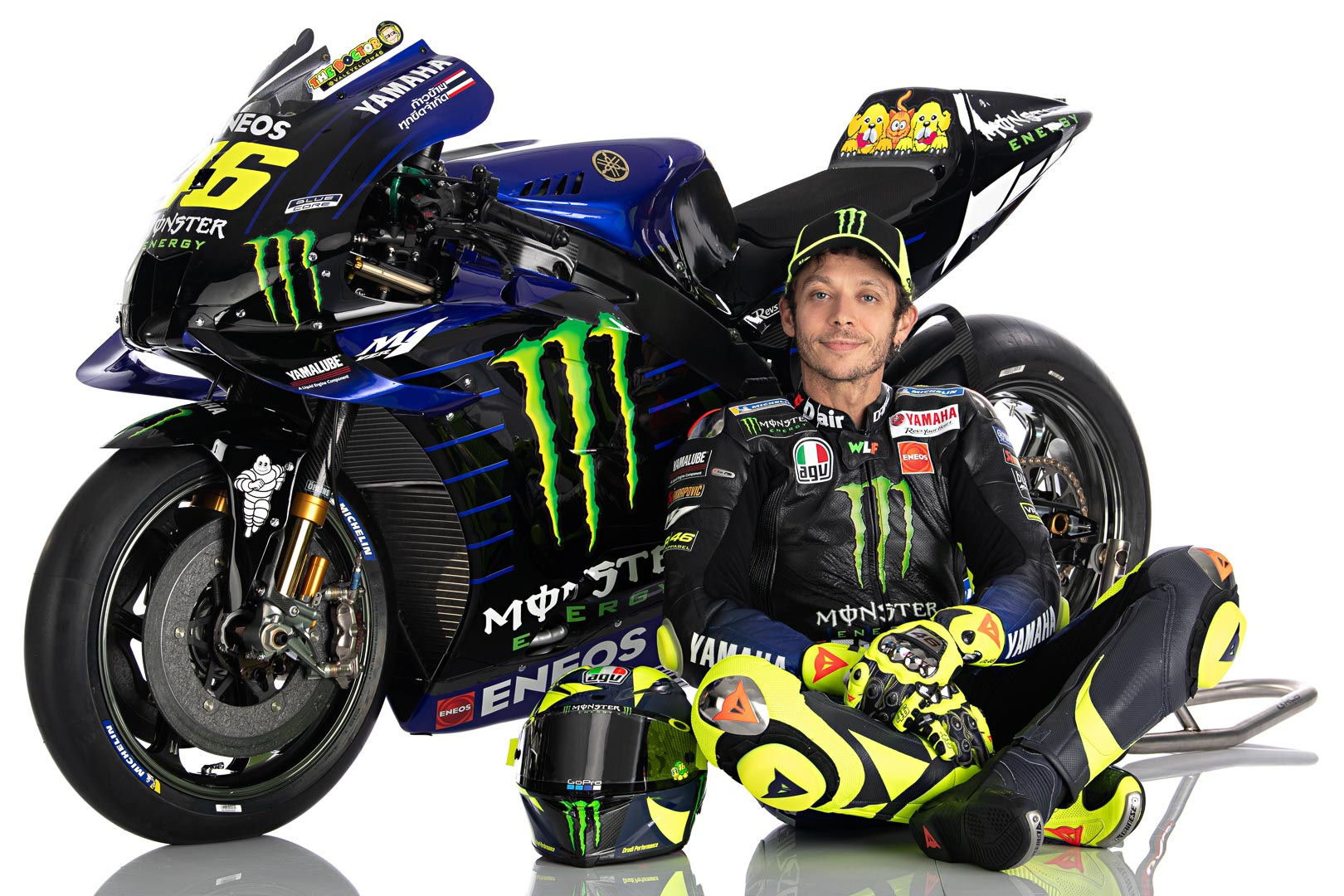 Valentino Rossi 2020 Motogp Yamaha Livery First Look 18 Photos