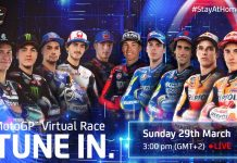 2020 MotoGP Virtual Race On Sunday
