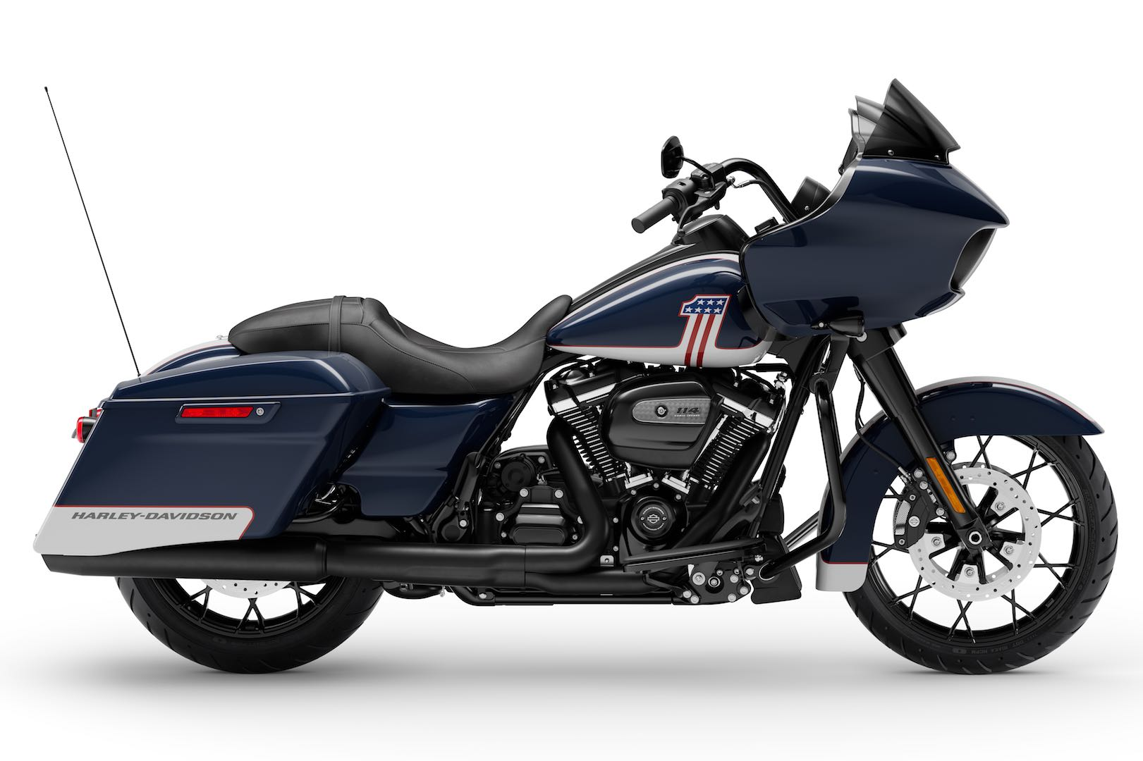 2020 Harley Street Glide Special with Blue Patriotic Paint