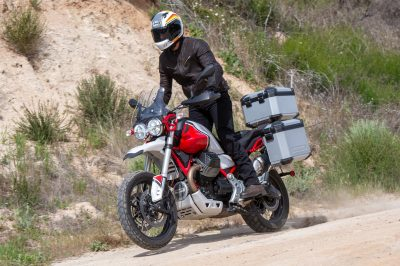 2020 Moto Guzzi V85 TT Review Adventure Off-Road
