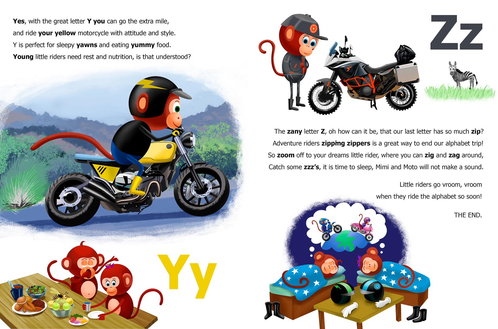 Mimi and Moto Ride The Alphabet Book Review - Youth Reading