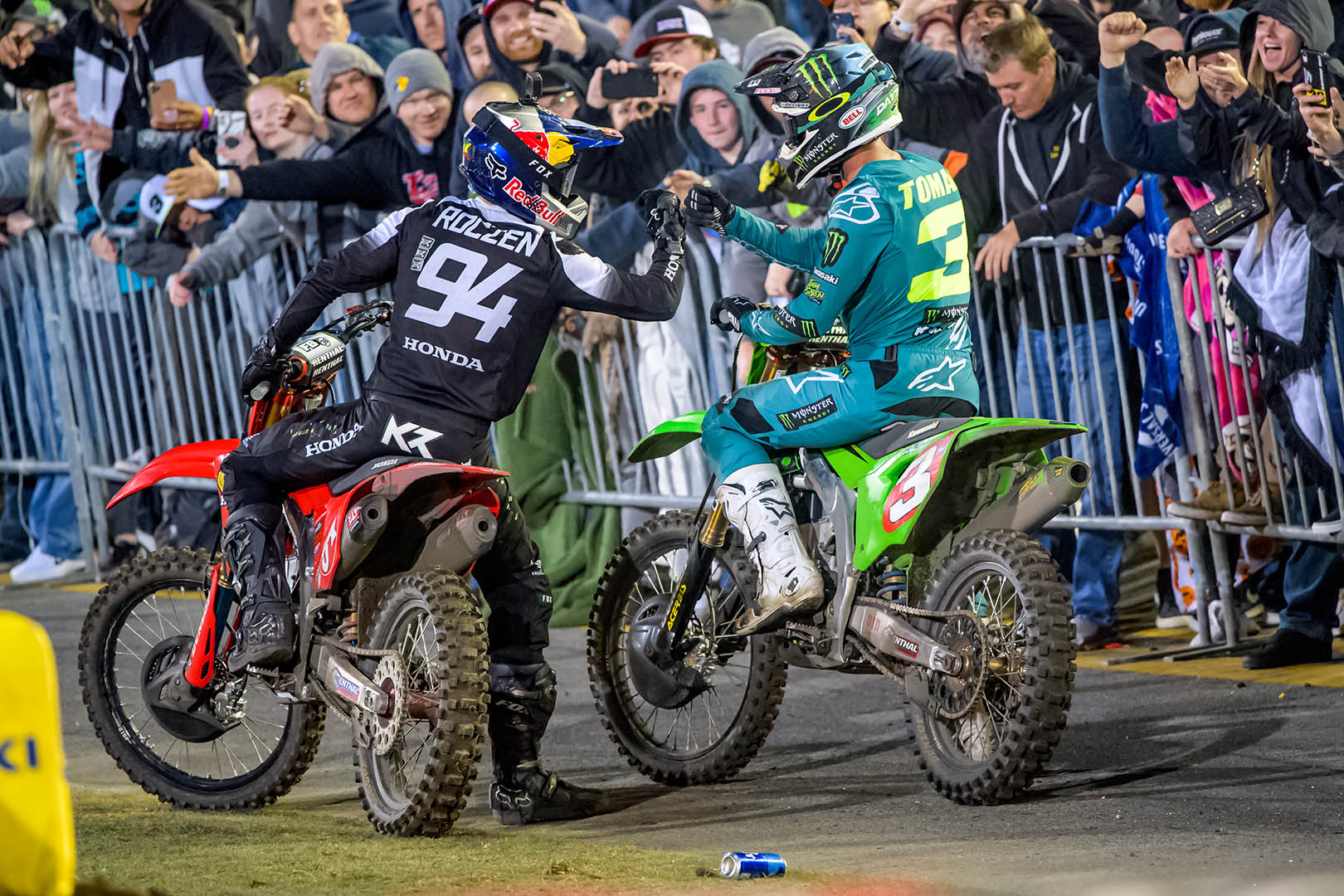 Supercross Fantasy Tips SLC1 - Roczen and Tomac