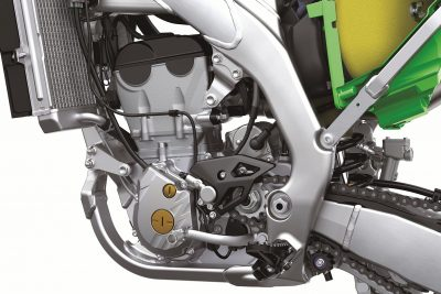 2021 KX 250 Kawasaki engine power