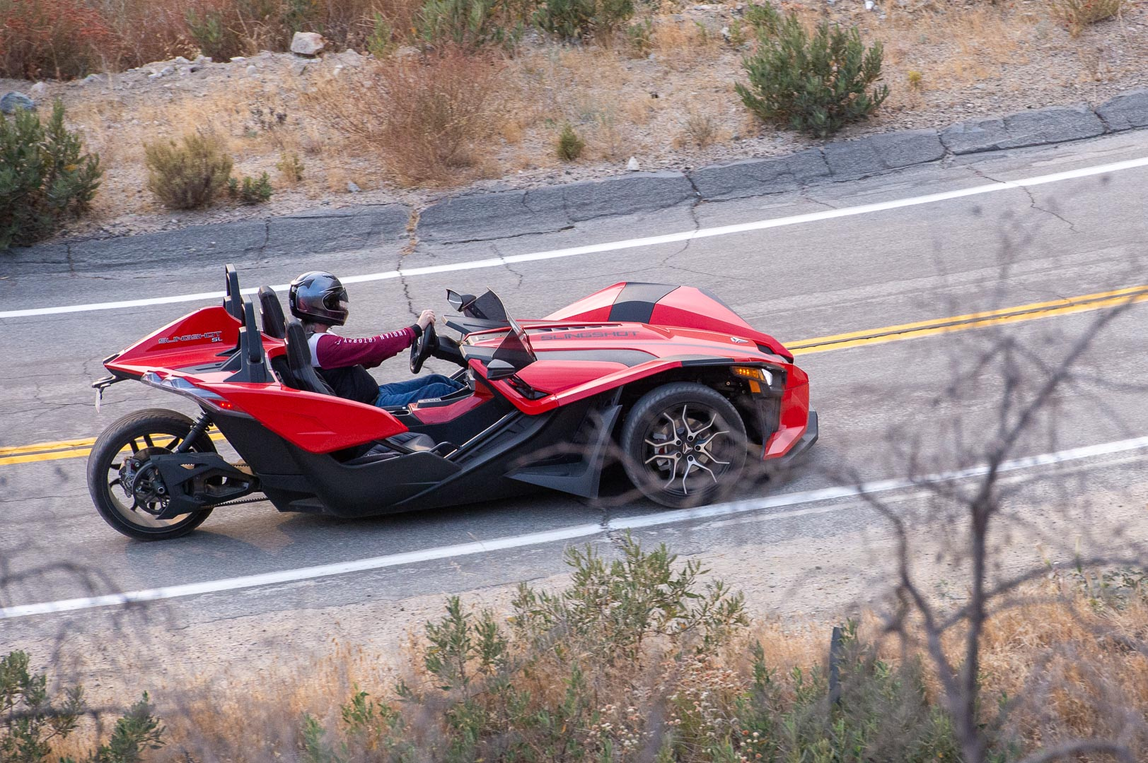 2020 Polaris Slingshot SL Review: Automatic transmission