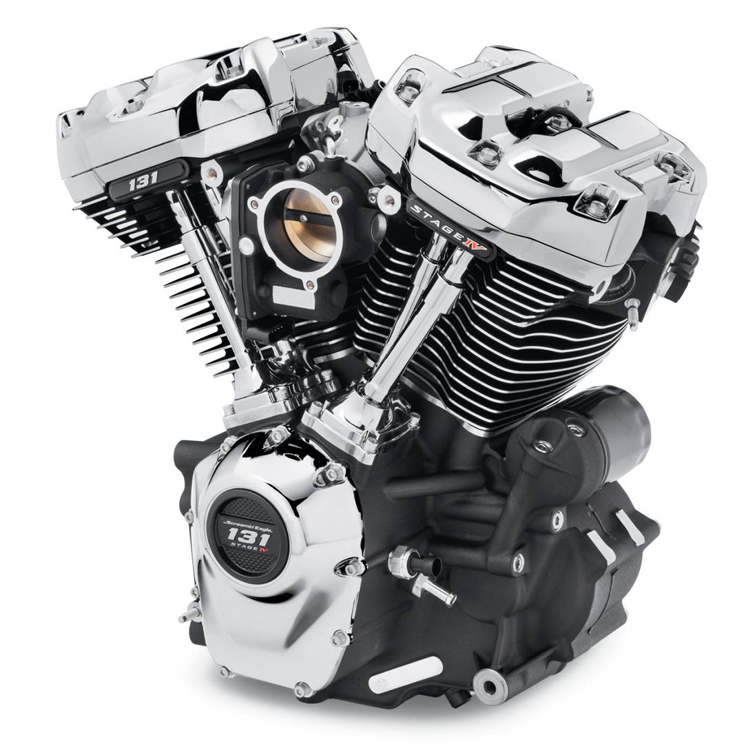 Harley-Davidson Screamin' Eagle 131 Crate Engine For Softails First Look: Chrome