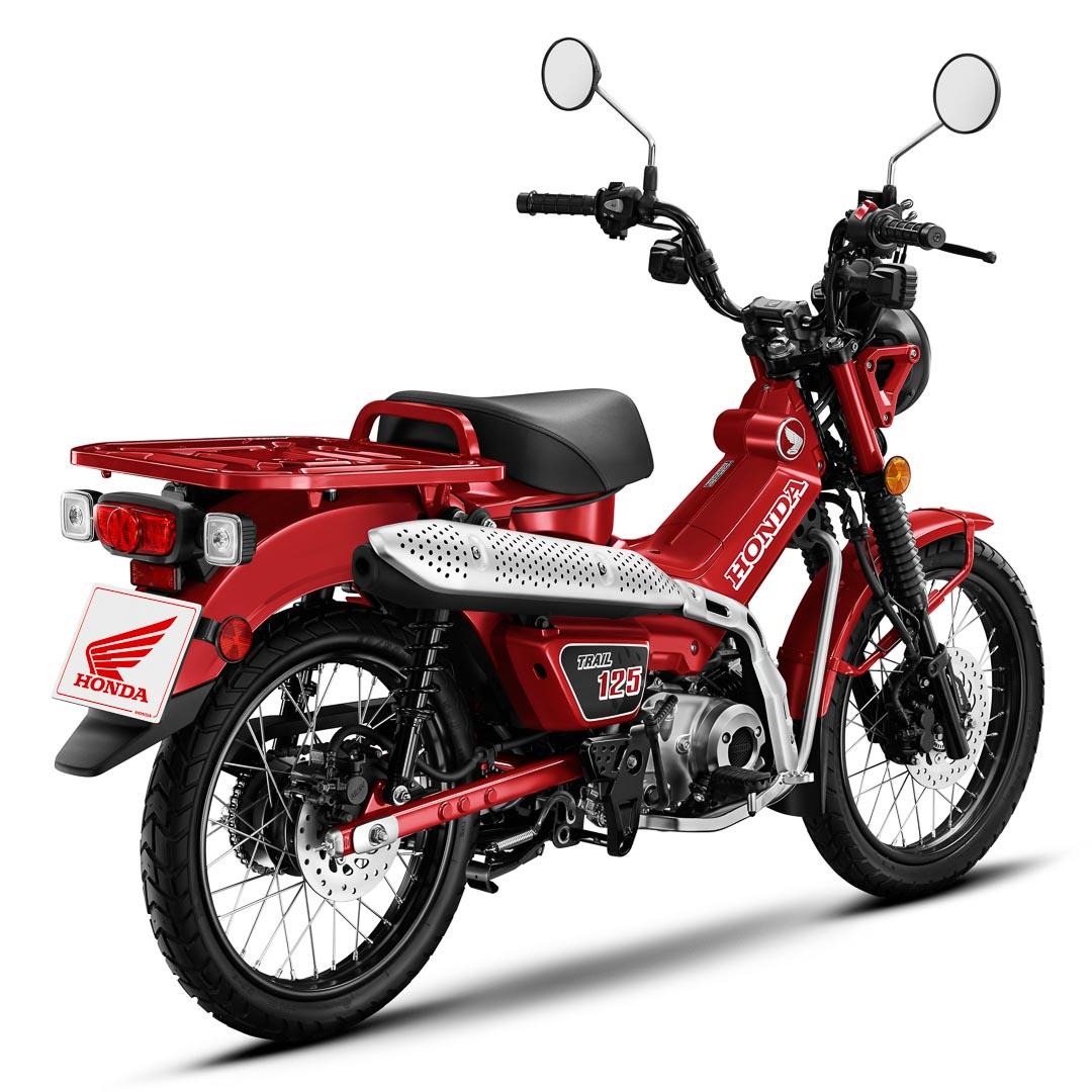 2021 Honda Trail 125 ABS First Look: For Sale