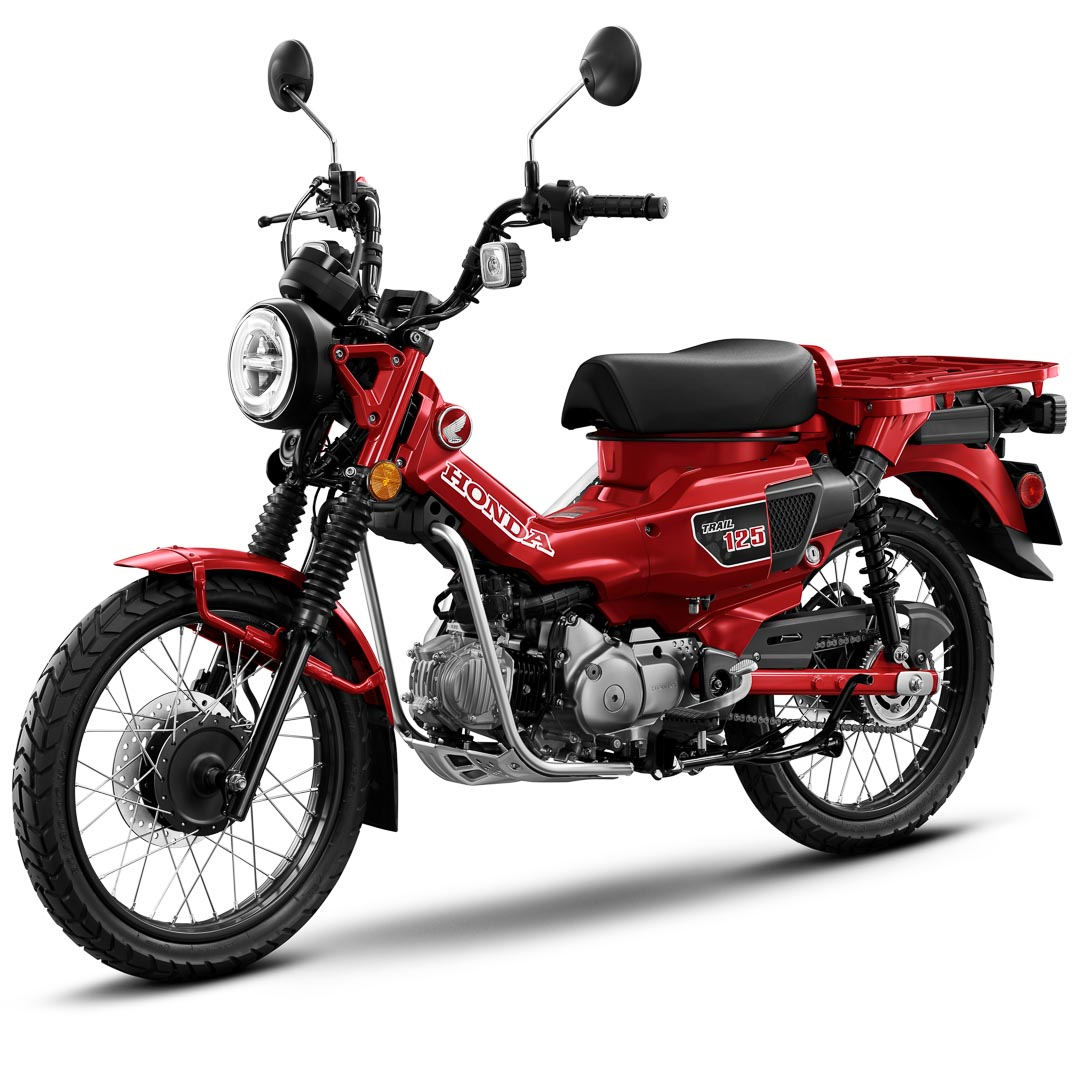 2021 Honda Trail 125 ABS First Look: MSRP