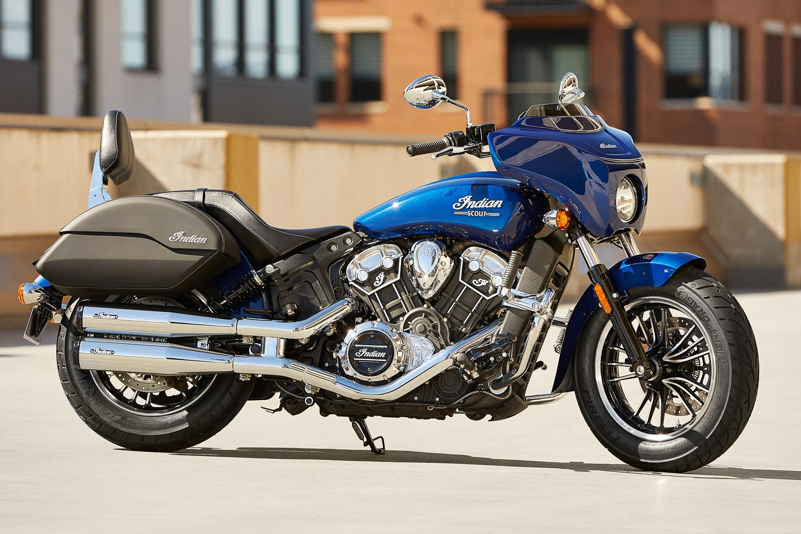 2021 Indian Scout Lineup: Touring Accessories