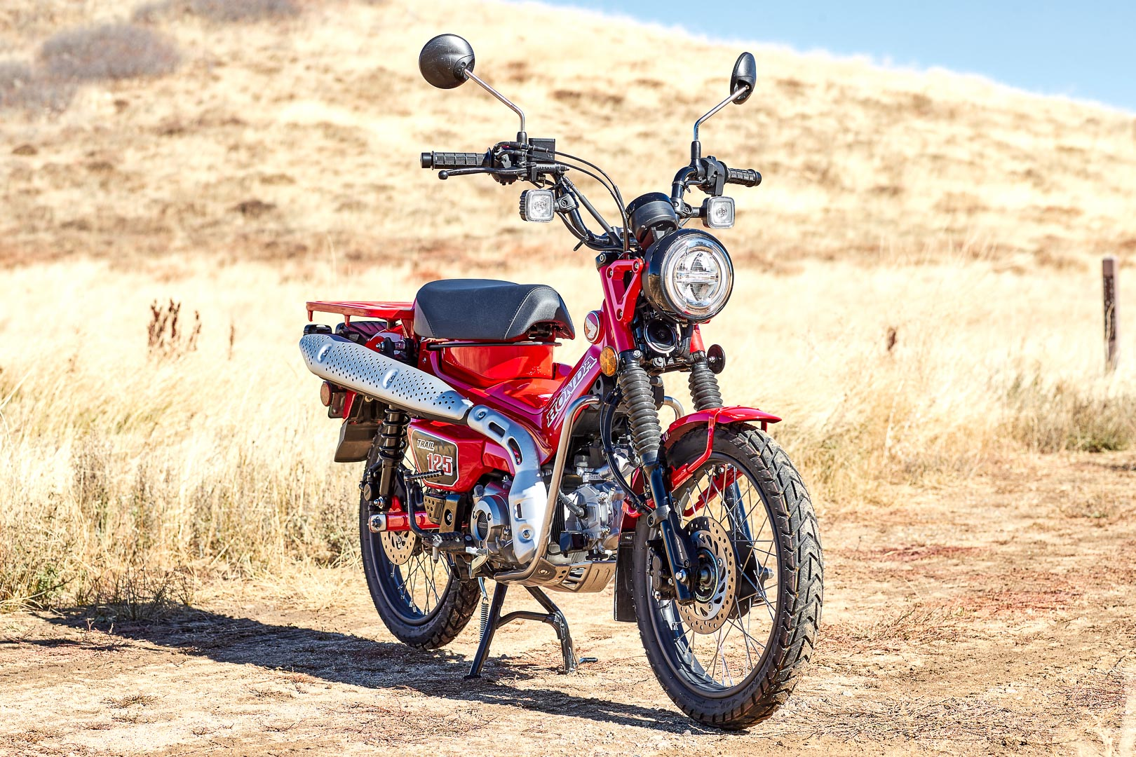 2021 Honda Trail 125 ABS Review: Trail Bike Motorcycle