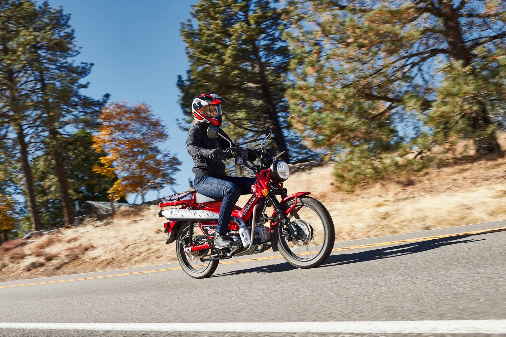2021 Honda Trail 125 ABS Review: Adventure Motorcycle