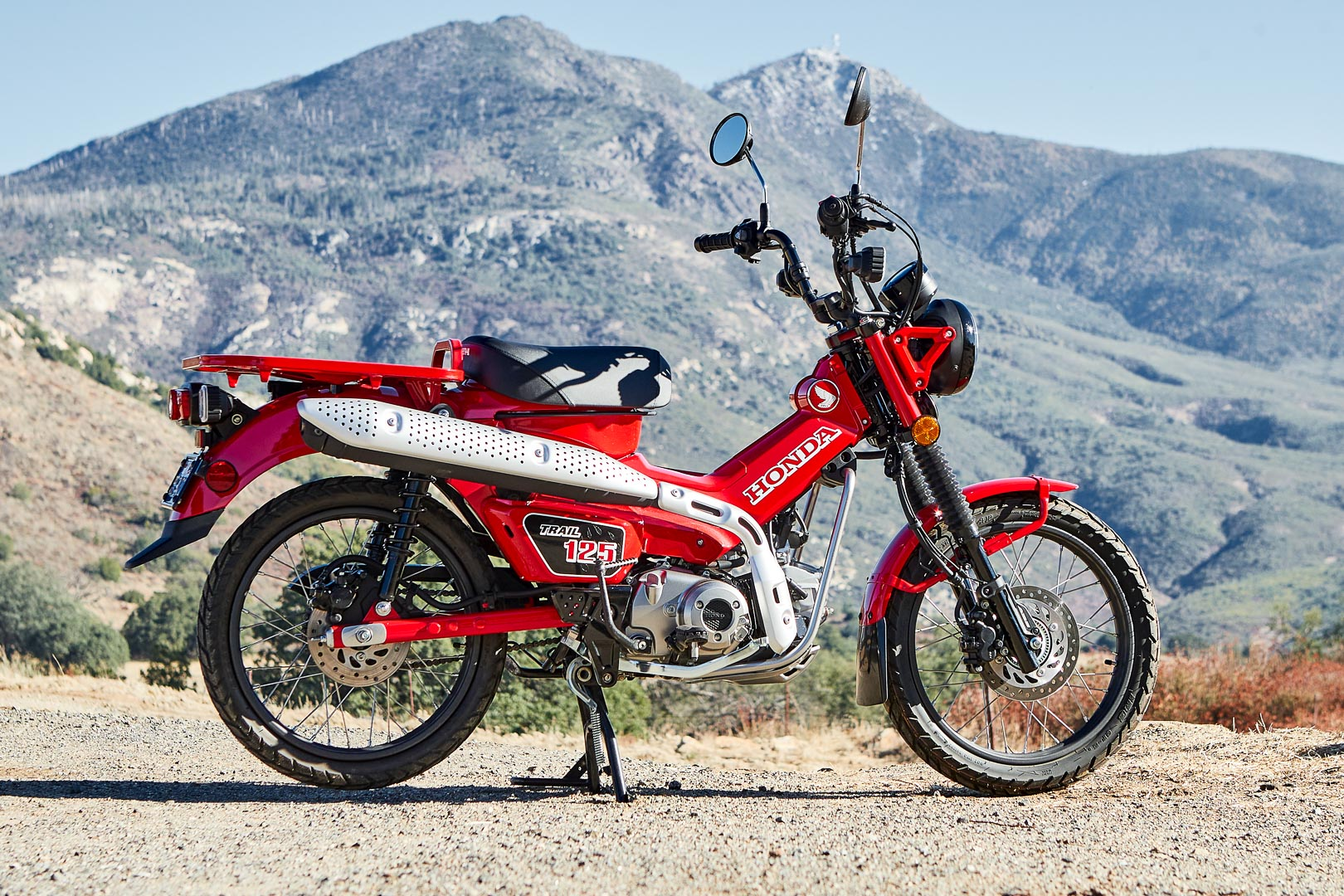 2021 Honda Trail 125 ABS Review: MSRP