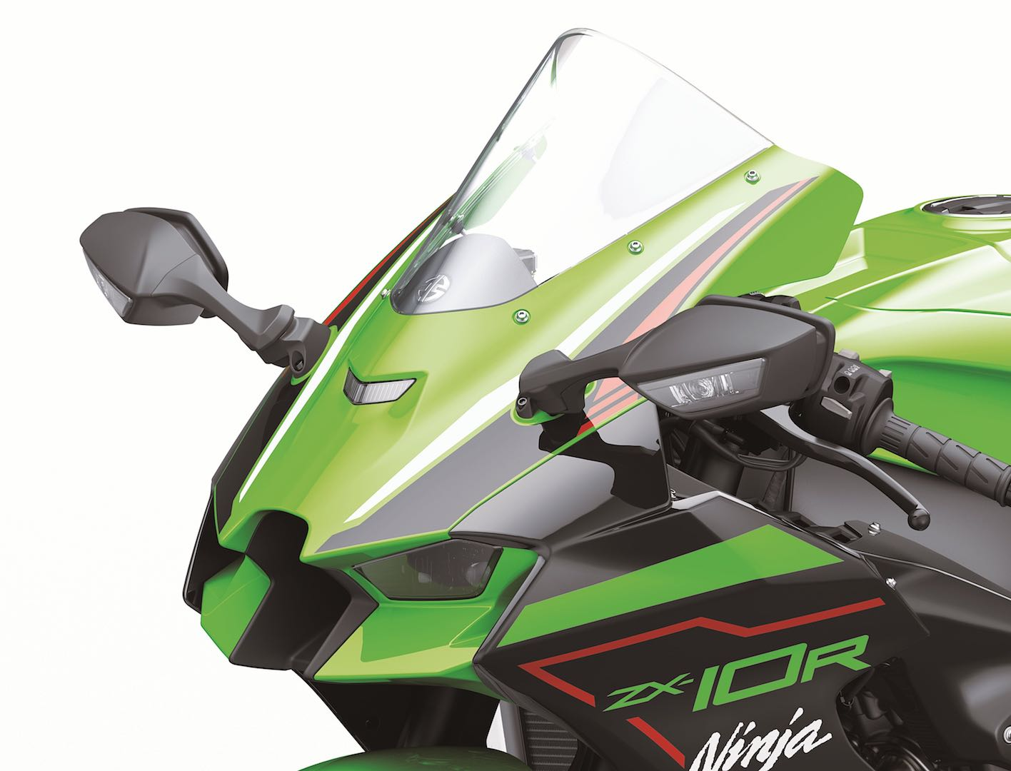2021 ZX-10R revised cowling