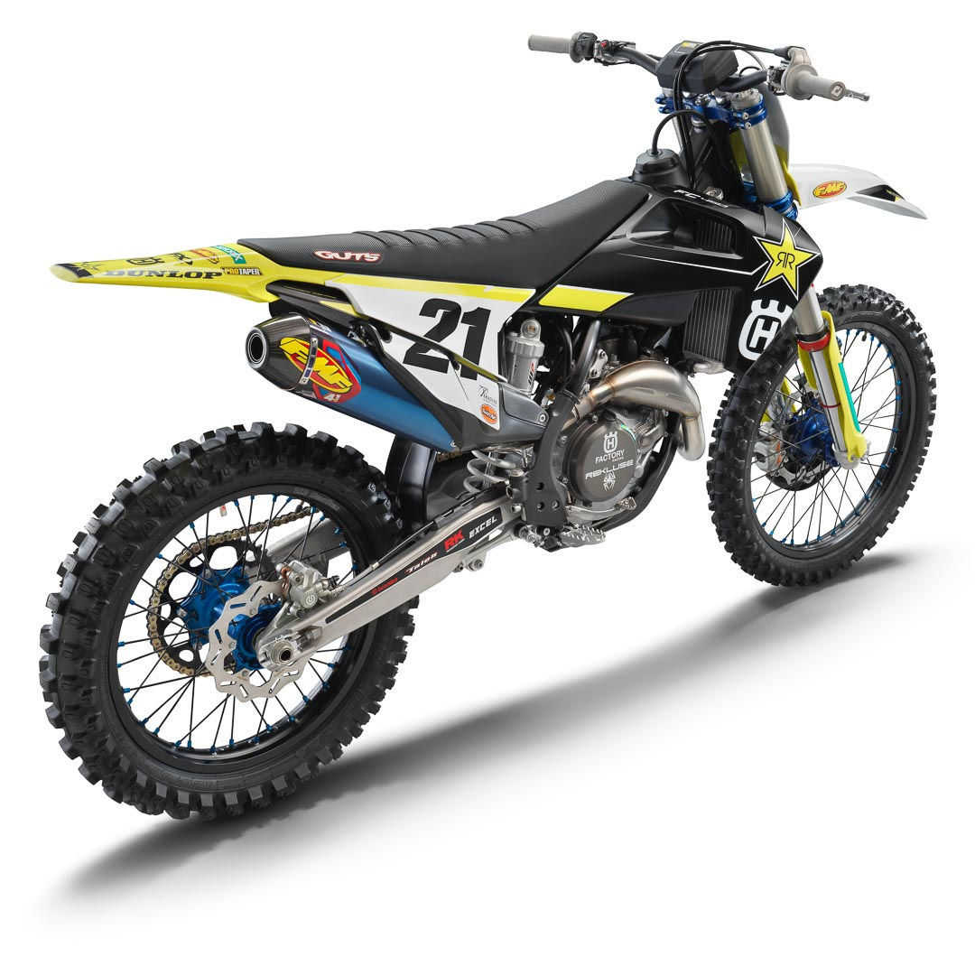 2021 Husqvarna FC 450 Rockstar Edition First Look: MSRP