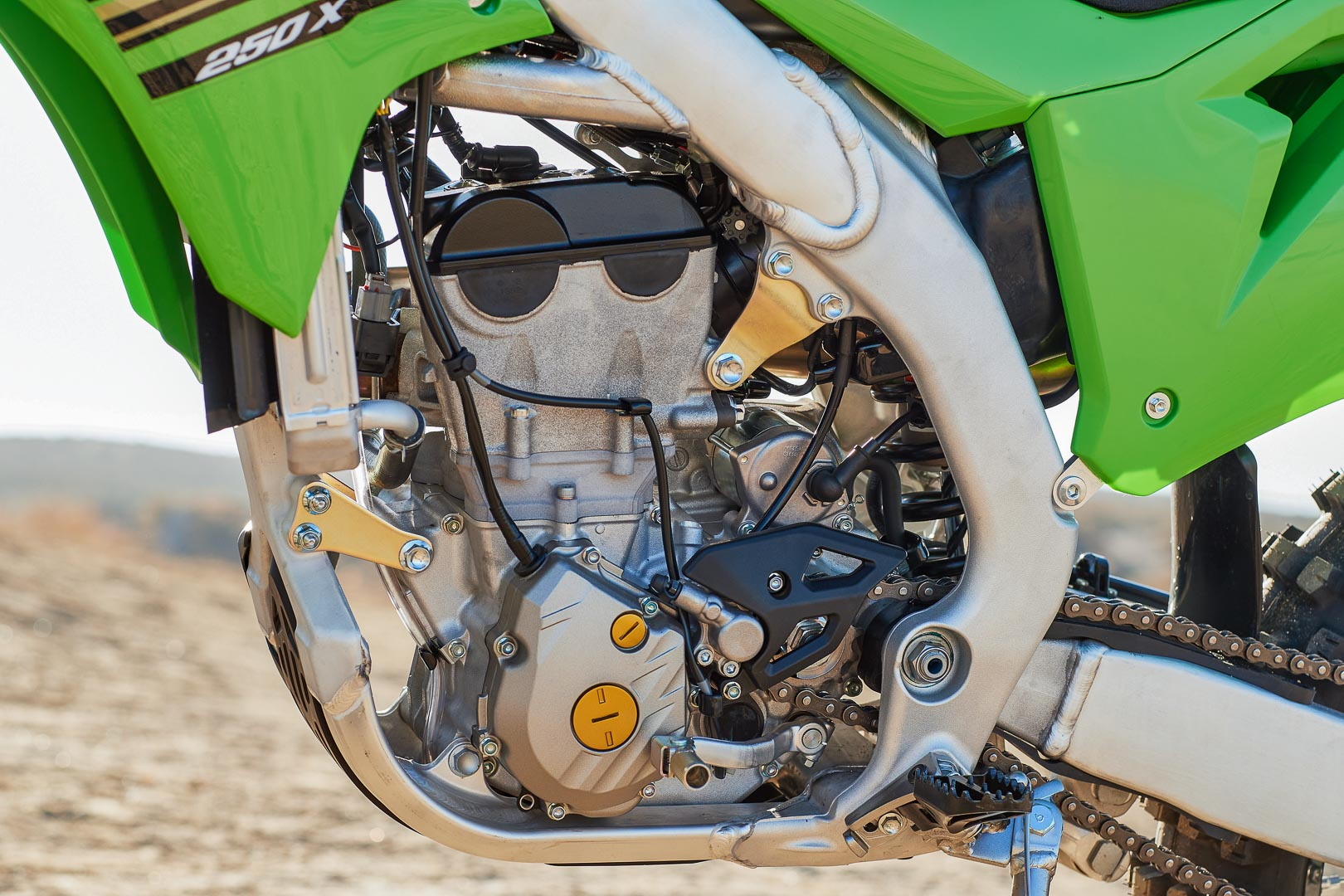 2021 Kawasaki KX250X Review: Specs