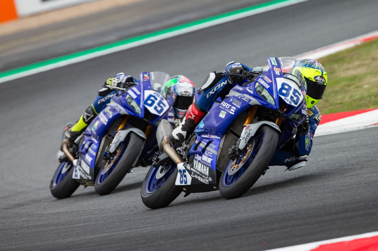 Pirelli Tire Supplier for 2021 Yamaha R3 bLU cRU European Cup: Slick tires