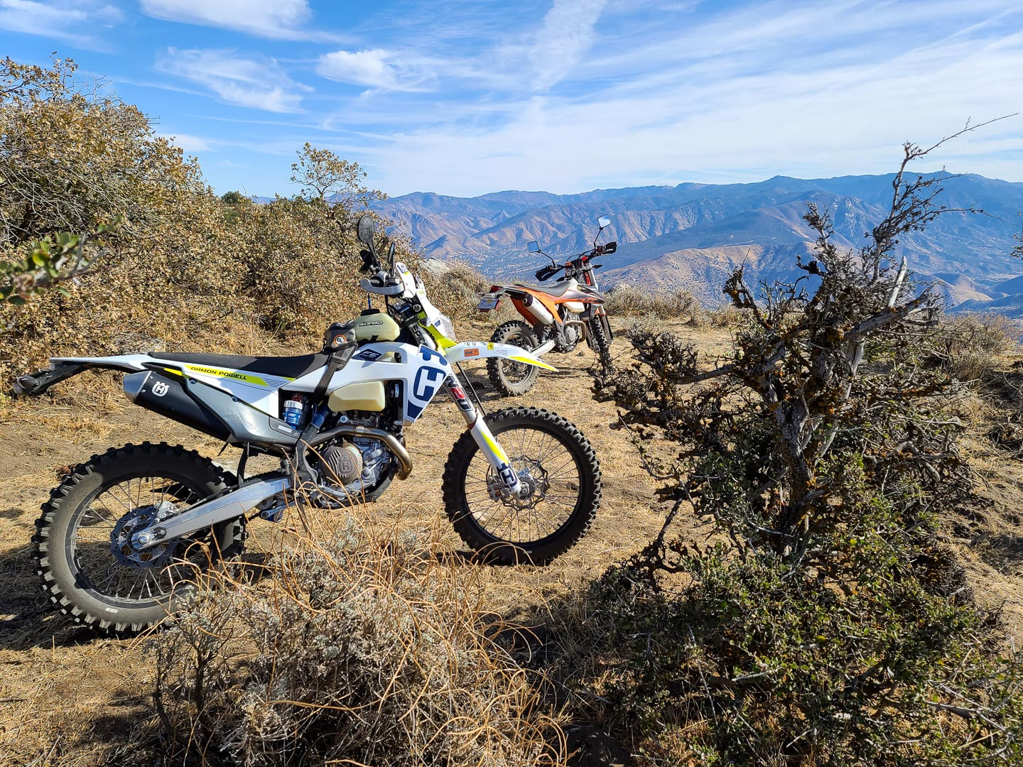2020 KTM 350 EXC-F Test: Sequoia National Forest