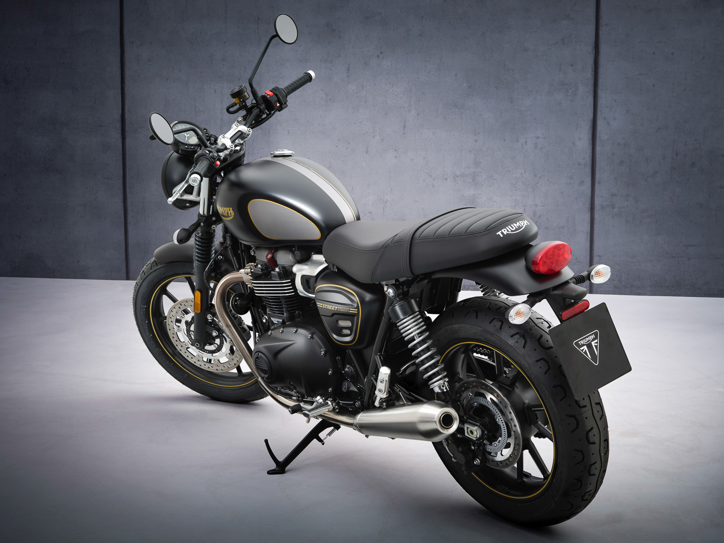 2021 Street Twin Gold Line Seat Height
