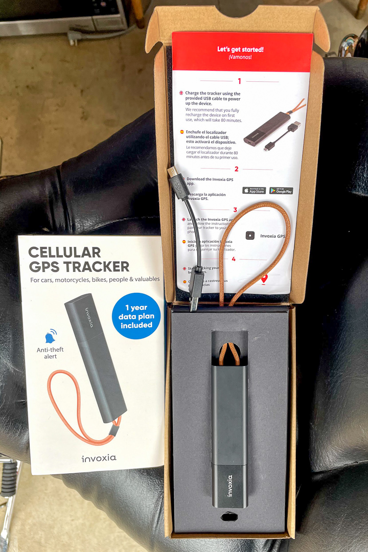 Invoxia Cellular GPS Tracker: MSRP
