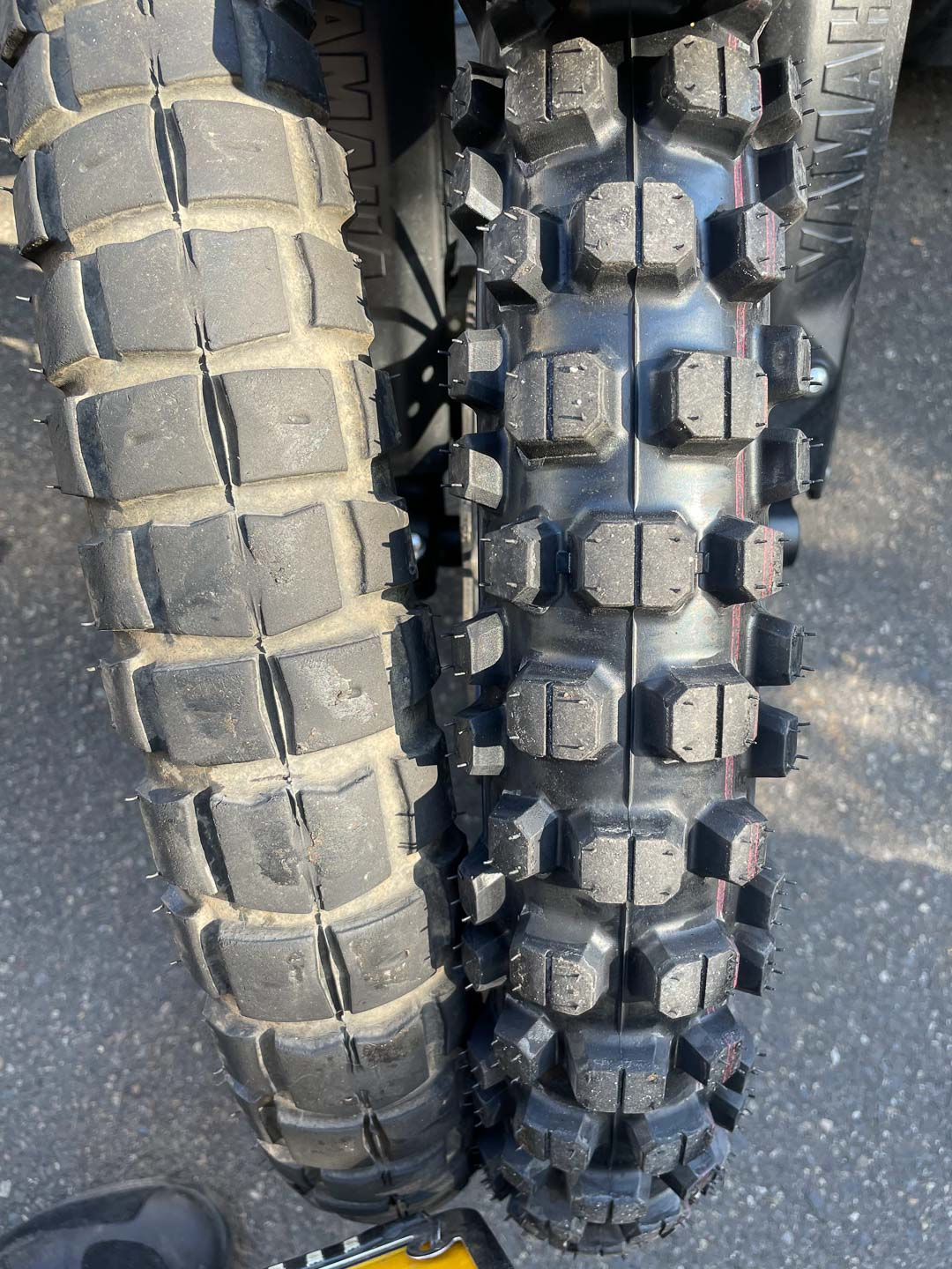 Pirelli MT 21 Rallycross Review: Front tire sizes